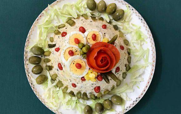 Olovieh Salad